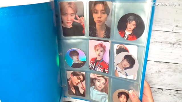 Kpop DIY: Photo Card Binder NCT at http://KooriStyle.com ♥