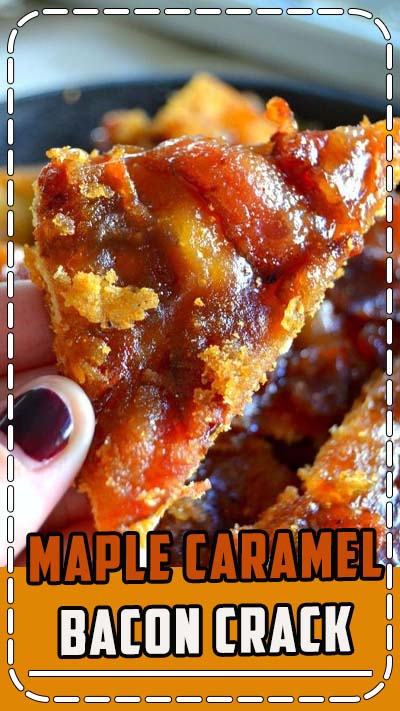 Highly addictive, sweet, smoky and SO easy, this Maple Caramel Bacon Crack is your one-way ticket to flavortown. The four simple ingredients are probably in your pantry right now! Once you go bacon crack, you can't go back. L