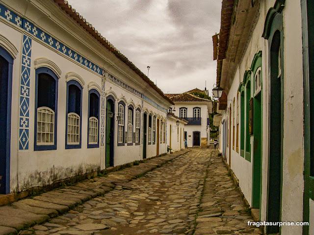 Rua do Centro Histórico de paraty