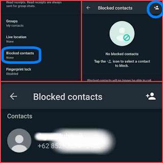 Blok kontak wa