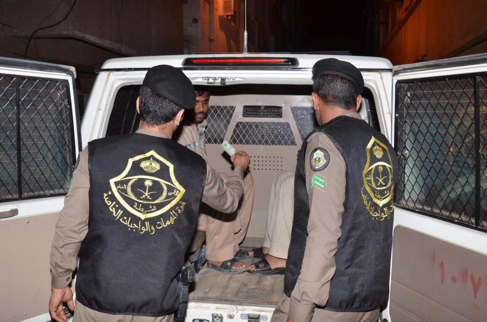 الجوازات السعودية تفرض غرامة ماالية وعقوبة على المتسللين