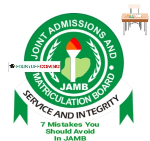 7 Things That Causes Failure In UTME