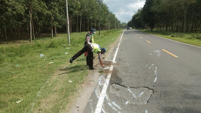 Tabrak Lubang Jalan, Hardi Tewas Dilindas Dump Truk di Simalungun