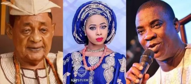 KWAM 1 Releases Official Statement On Alleged Affair With The Alaafin Of Oyo's Olori