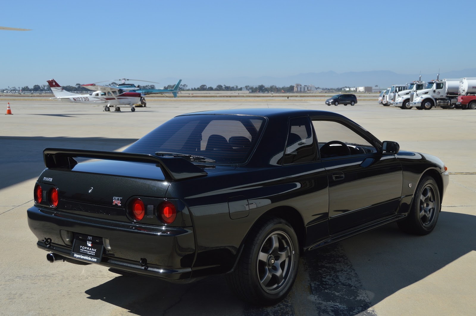 nissan skyline gt r s in the usa blog 1990 nissan skyline gt r r32 for sale in long beach. Black Bedroom Furniture Sets. Home Design Ideas