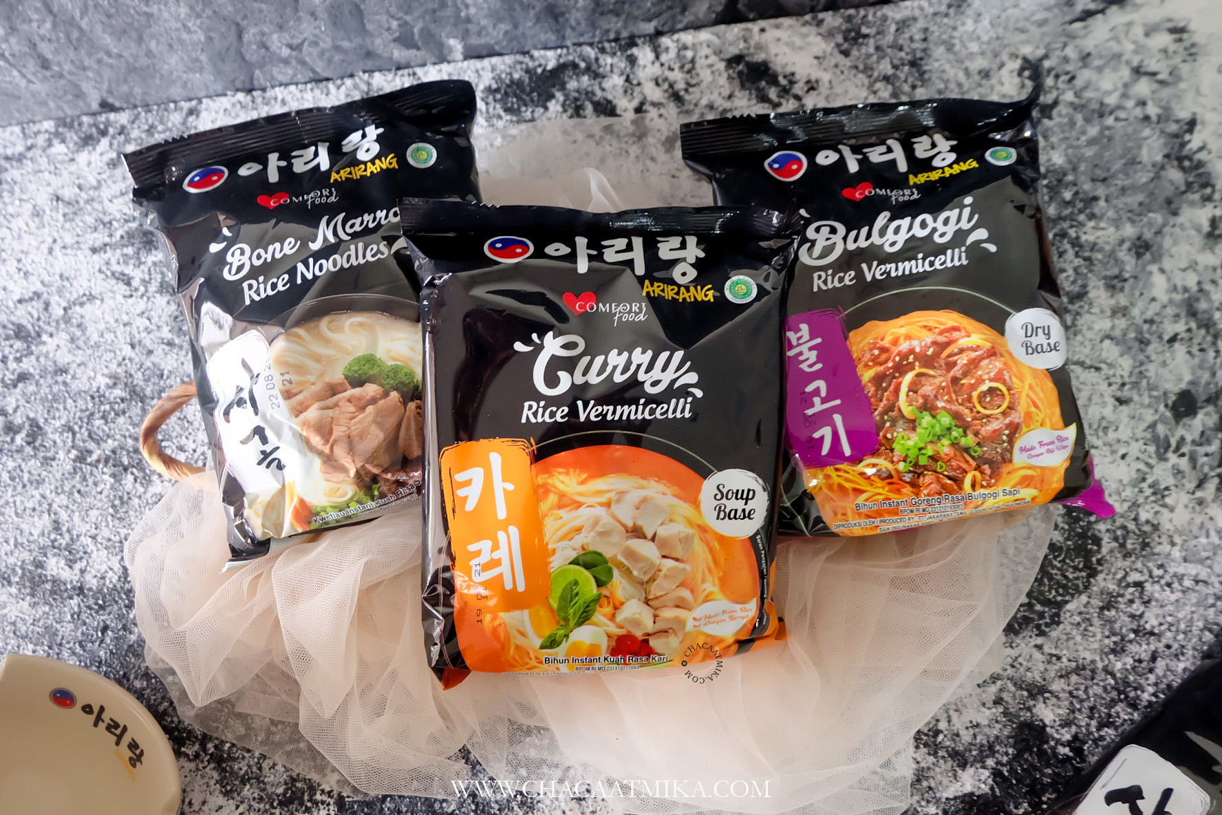 Review Mie Arirang Rice Flour Seriues