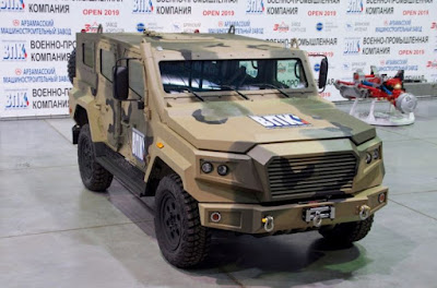 Russian Strela tactical vehicle