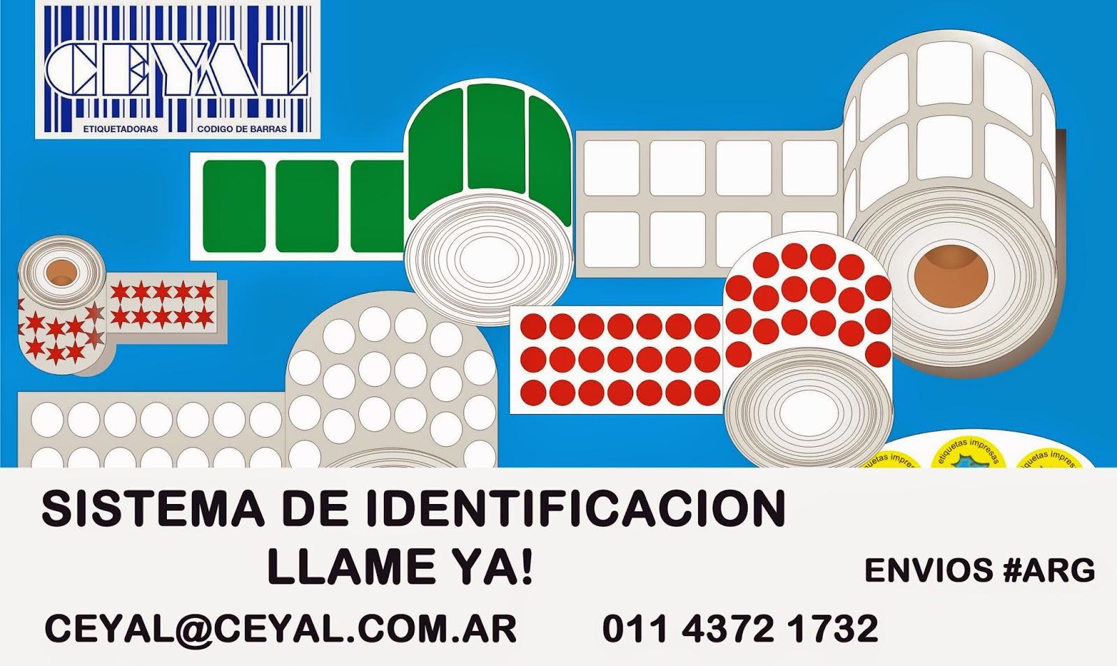 Rollos Etiquetas Impresoras Zebra Sato Datamax Intermec - BUENOS AIRES - INTERIOR