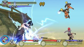 تحميل لعبة Ultimate Ninja Heroes 3 psp لأجهزة psp ومحاكي ppsspp
