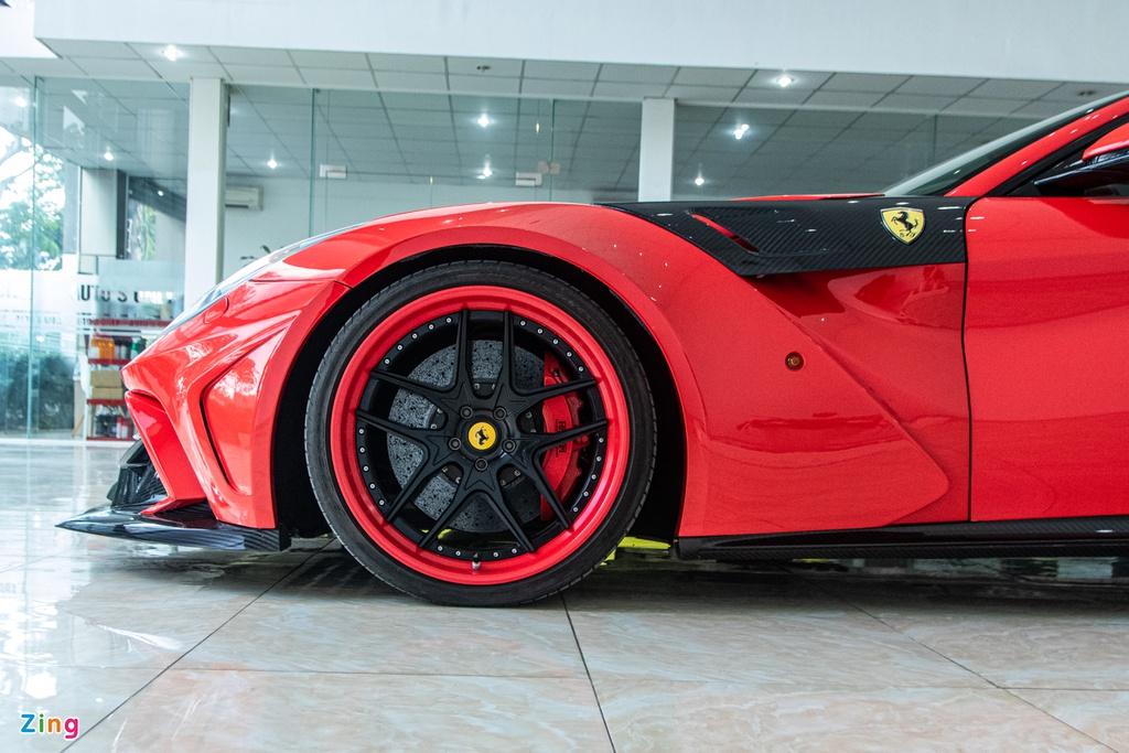 Ferrari F12 Berlinetta độ Duke Dynamics độc nhất VN