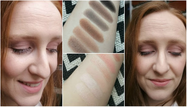 Rimmel Magnifeyes Blush Edition Eyeshadow Review Swatches