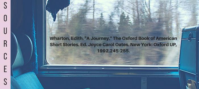 Summary of Edith Wharton's A Journey Sources