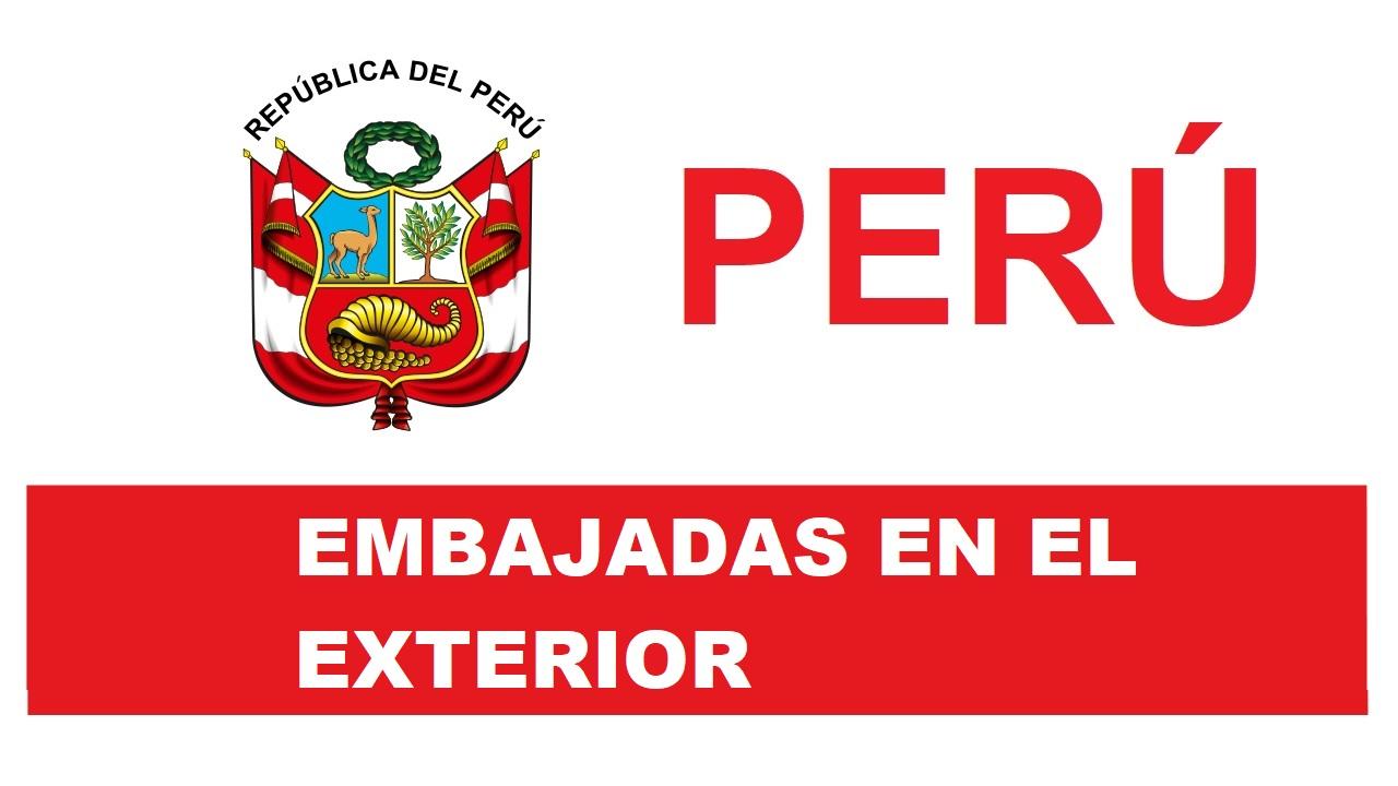 Embajadas del Perú en el Exterior