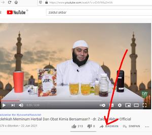 Cara Membuat Link Alamat Video Youtube di Menit Tertentu