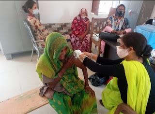 कोरोना महामारी से बचाव व टीकाकरण कार्यक्रम सफ़ल