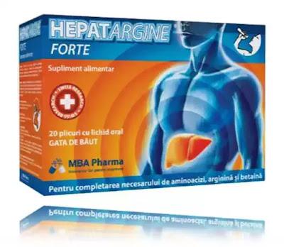 Hepatargine Forte pareri forum sanatatea ficatului
