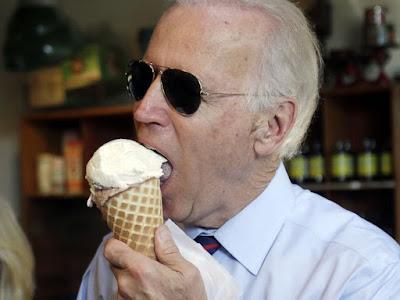 Biden and ice-cream