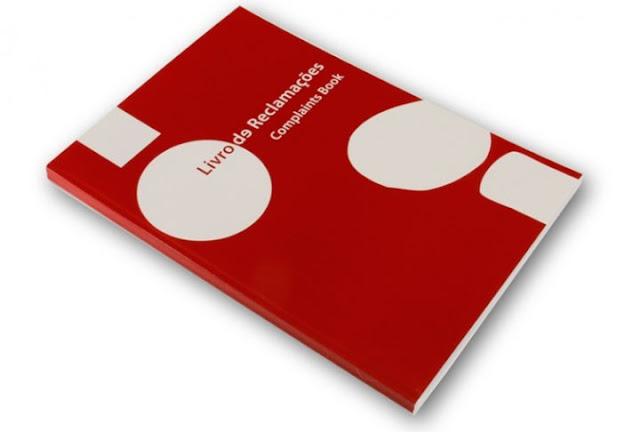 livro reclamações