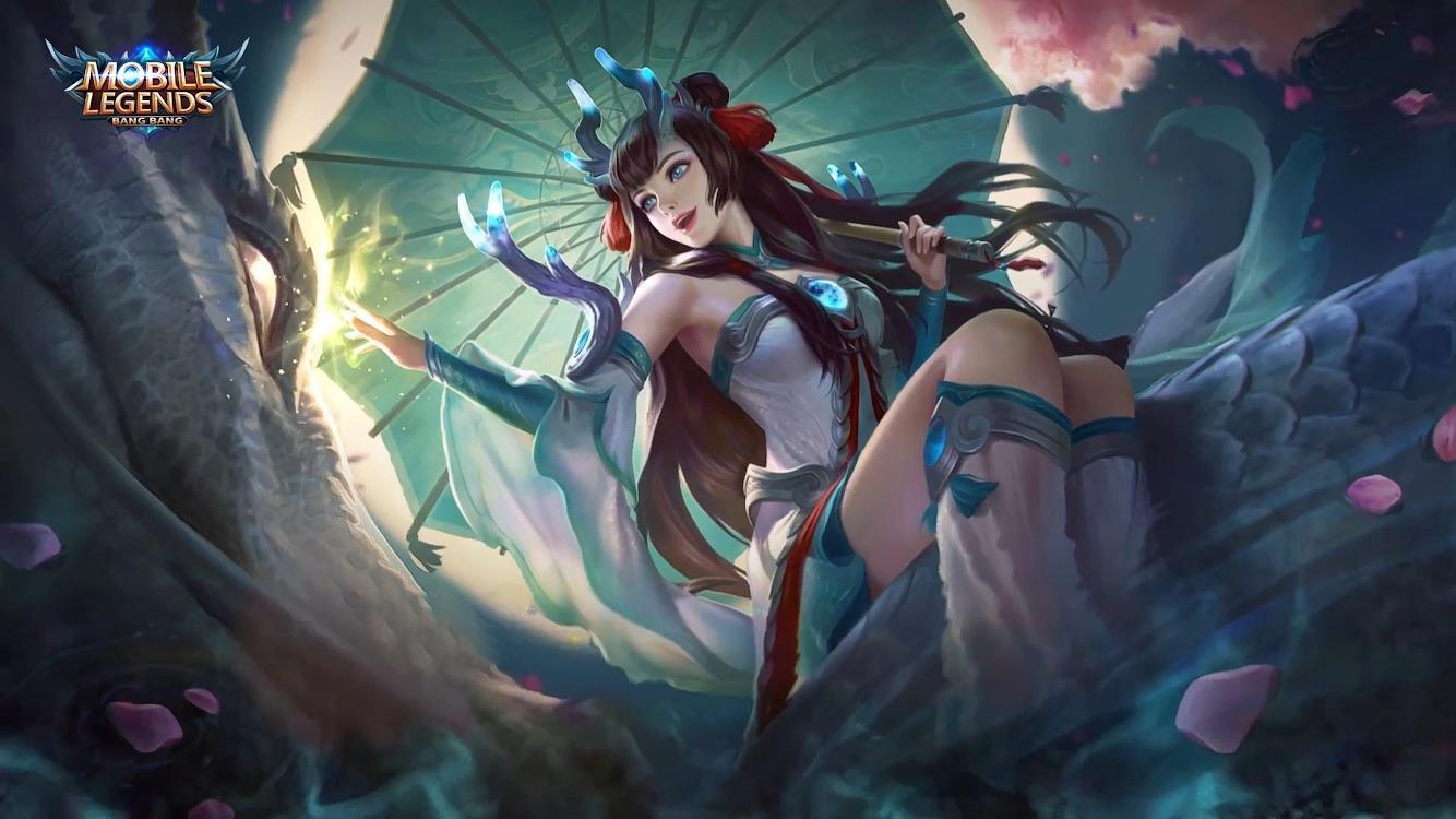 Wallpaper Kagura Soryu Maiden Skin Mobile Legends Full HD for PC