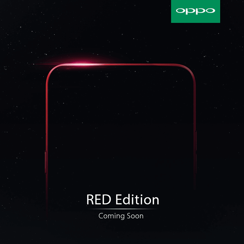 OPPO F3 RED Edition Is Coming!