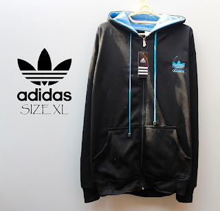 Jaket & Sweater Fleece Hoodie Adidas ADS002