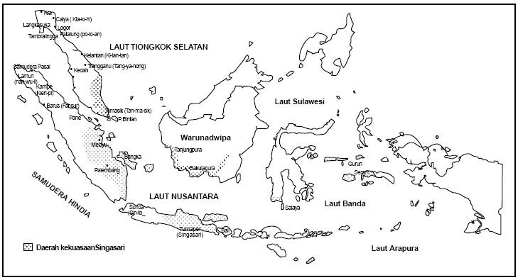 Gambar Peta Indonesia Untuk Diwarnai