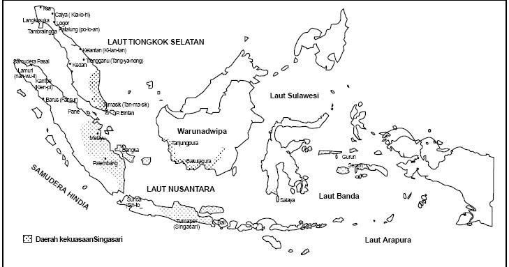 Mewarnai Peta Indonesia Untuk Tk V Warna