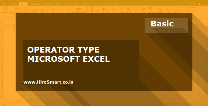 Calculation Operators In Excel Formulas & Their Priority Order For Use