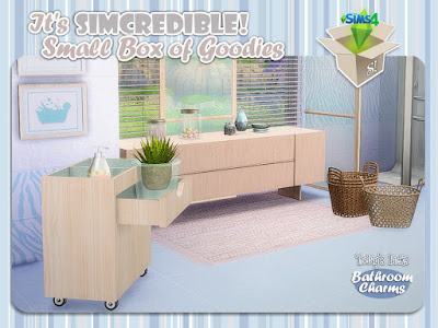 Декор для ванной в The Sims 4 со ссылками для скачивания
