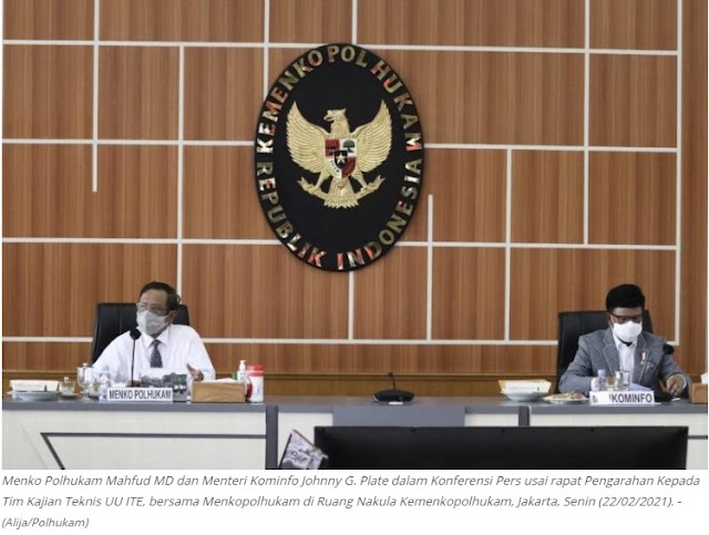 Tiga Kementerian Tindak Lanjuti Arahan Presiden, Bentuk Tim Kajian UU ITE