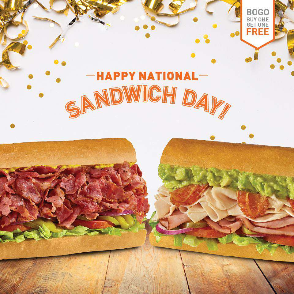 National Sandwich Day Wishes Lovely Pics