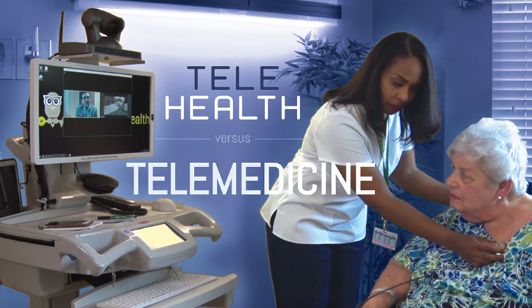 TeleHealth vs. Telemedicine