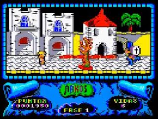 Partida Arkos - Amstrad CPC