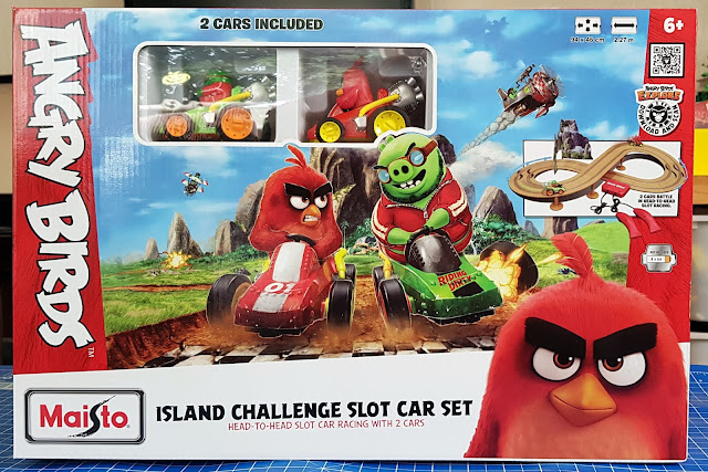 Angry Birds Island Challenge Slot Car Racing pack shot
