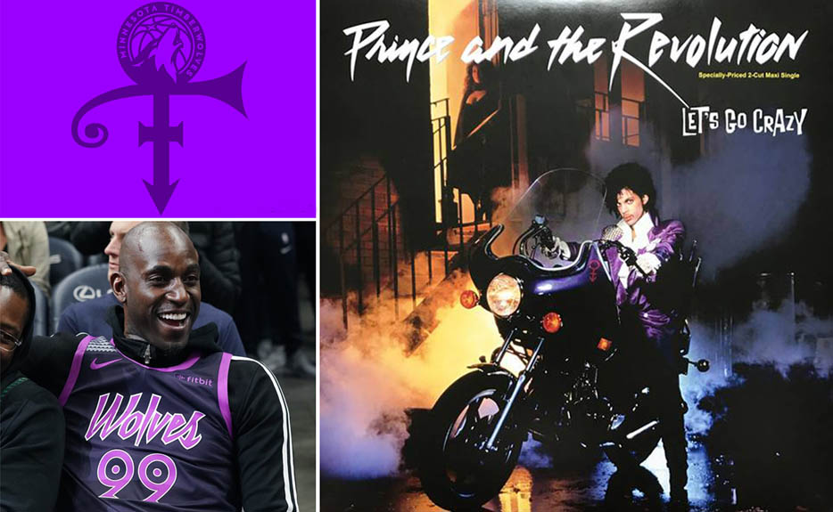 The Minnesota Timberwolves special City Edition jerseys honoring the late  musical icon and Minnesota legend Prince 1edcfde81