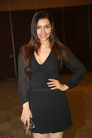 Kyra Dutta in black At Rogue Movie Audio Launch ~  053.JPG
