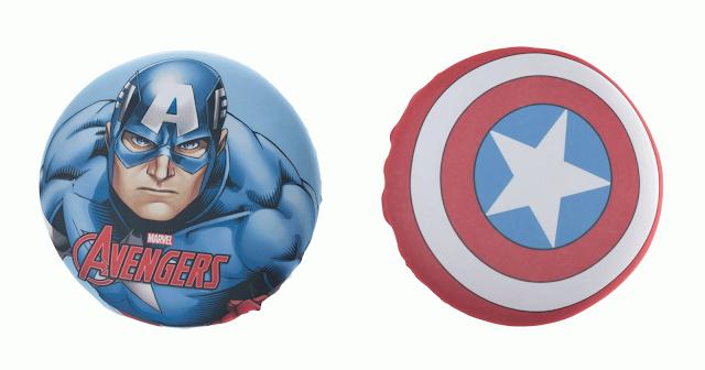 Almofada Capitão América - Personagem e Escudo