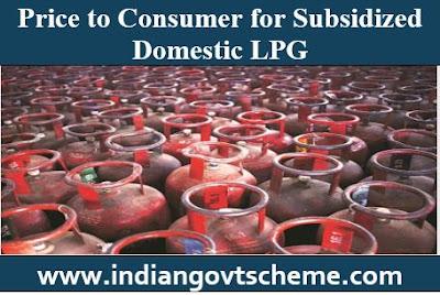 Subsidized Domestic LPG