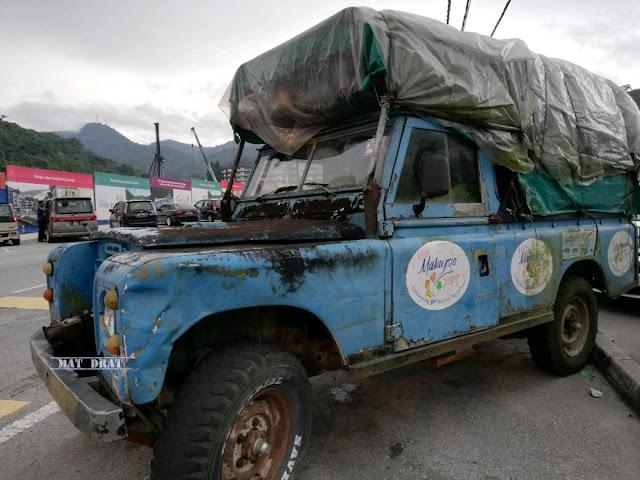 Tempat Menarik Cameron Highland Land Rover