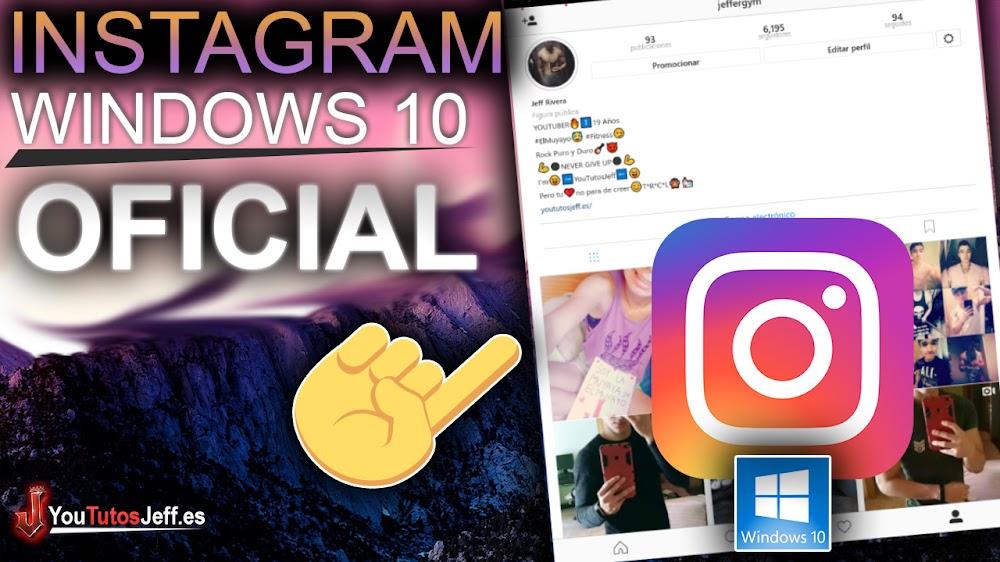Como Descargar Instagram Windows 10 Oficial