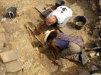 recherches archéologiques fontainebleau 2019