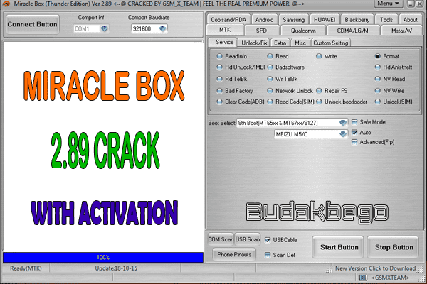 Miracle Box 2.89 Crack With Activation (Premium Version)