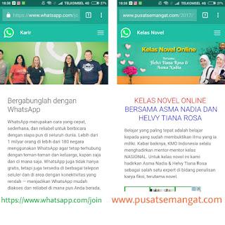 Tema Whatsapp untuk Blogspot