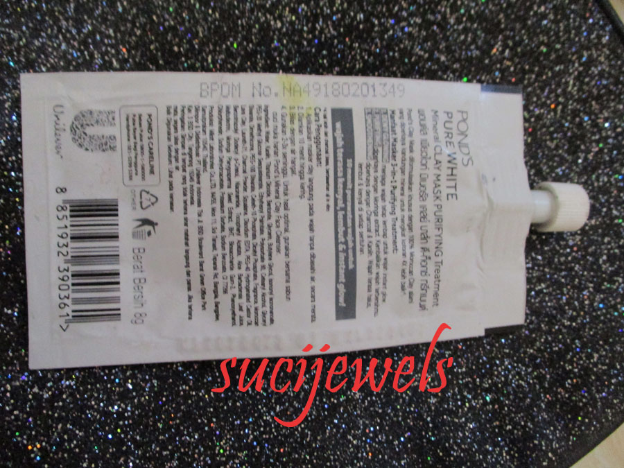 Sucijewels Review Pond S Pure White Mineral Clay Mask Purifying Treatment Charcoal