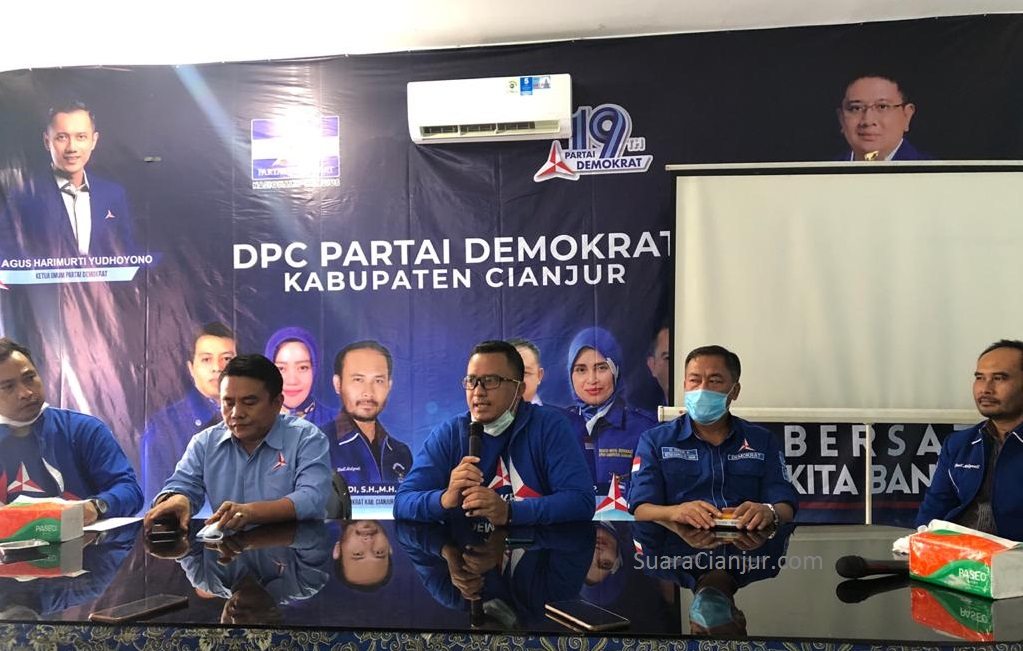 AHY Turunkan Satgas Bantu Menangkan Pilkada di Cianjur