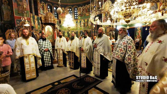 Το Ναύπλιο γιορτάζει  τους Αγίους Κωνσταντίνο και Ελένη (βίντεο)