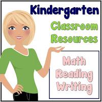 Kindergarten Classroom Resources