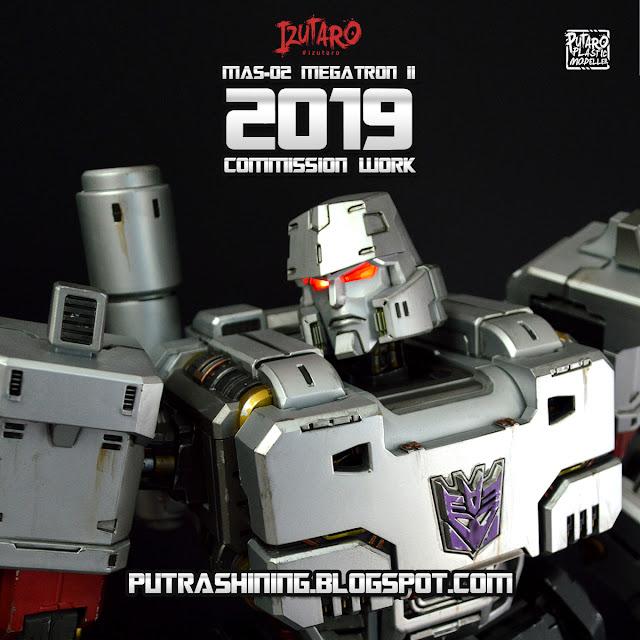 "Transformers Megatron II | MAS-02 Mega Action Series 18"" | Customize Weathering by Putra Shining"