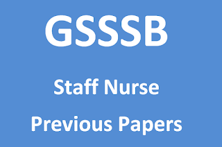 GSSSB Staff Nurse Previous Papers & Syllabus in Hindi