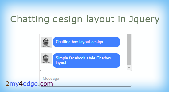 chatting box chat style design css layout